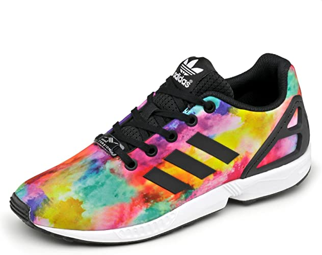 Zapatillas Adidas ZX Flux Kids Print 35 Multicolor: Amazon.es ...