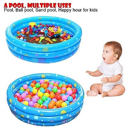 Amazon.com: Piscina inflable redonda para niños, piscina ...