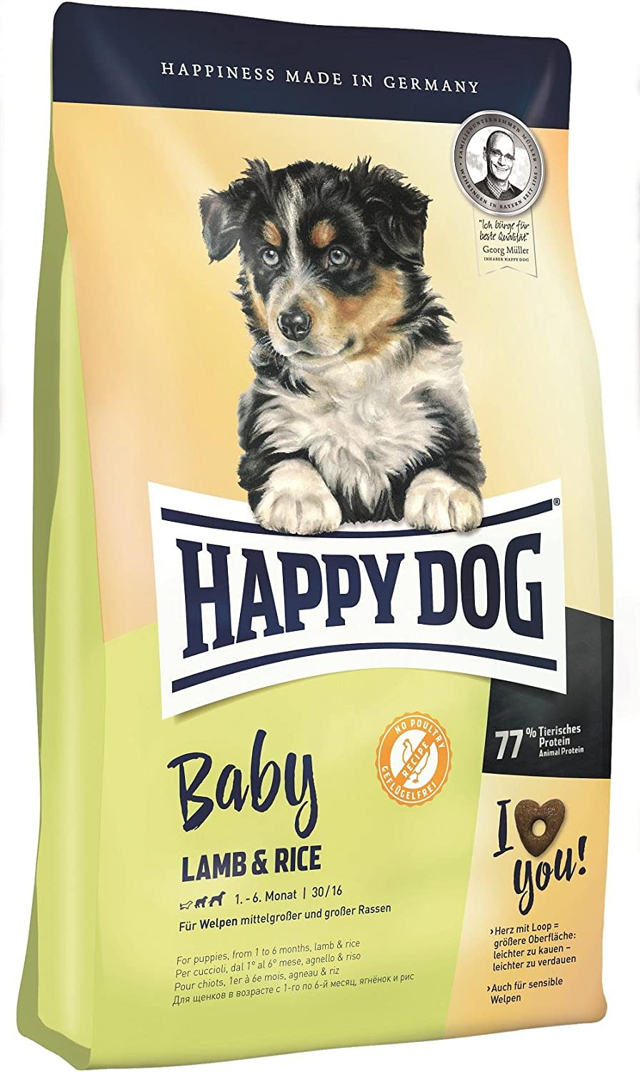 Happy Dog Baby Lamb and Rice Comida para Perros - 10000 gr
