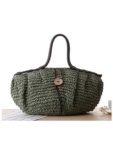 Melissa Wilde Big Beach Bags Women Large Zipper Tote Bags For Women 2018  Straw Handbag Summer c35d2307db