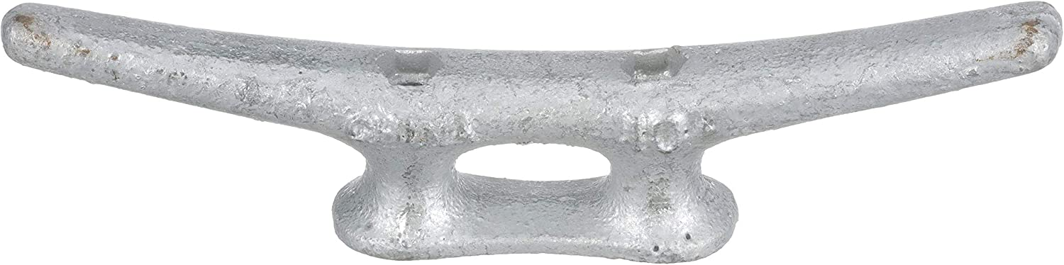MARINE DOCK CLEAT 5 GALVANIZED OPEN BASE BOAT 25 PACK