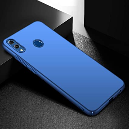 RidivishN ® Honor 8X Back Cover/Ultra Slim Shock Proof 360 Degree  Protection Thin Hard Back Cover case for Honor 8X (Blue)