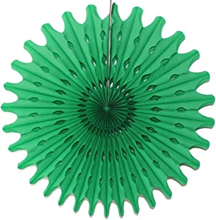 product image for Devra Party 3-Pack 18 Inch Large Honeycomb Tissue Paper Fan (Light Green)