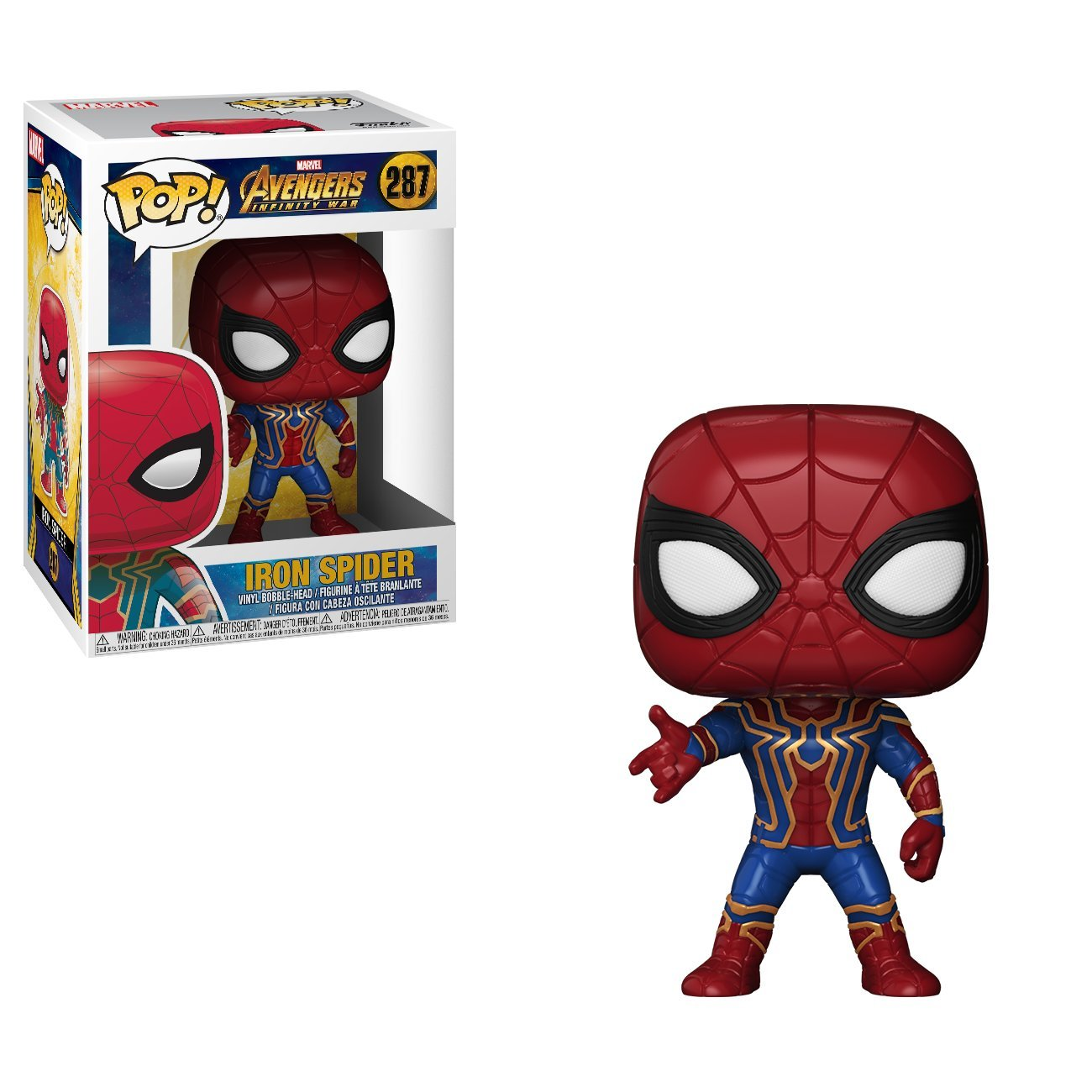 FUNKO POP! Marvel: Avengers Infinity War - Iron Spider 26465 Accessory Consumer Accessories