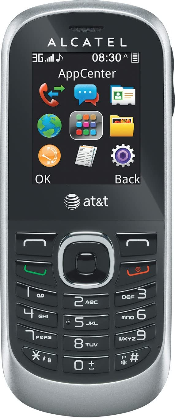 Alcatel 510A Prepaid GoPhone (AT&T) 3G GSM Bar Phone