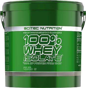 Scitec Nutrition 100% Whey Isolate con L-glutamina adicional, 4 kg, Vainilla