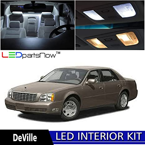 Amazon.com: LEDpartsNow 2000-2005 Cadillac DeVille LED Interior ...
