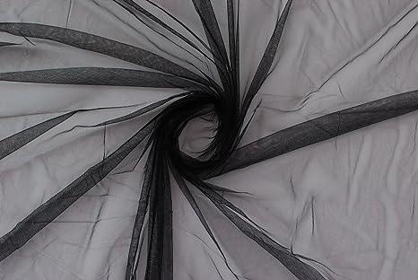 size 40 b5464 a8594 Tessuto al metro: TULLE NERO MORBIDO