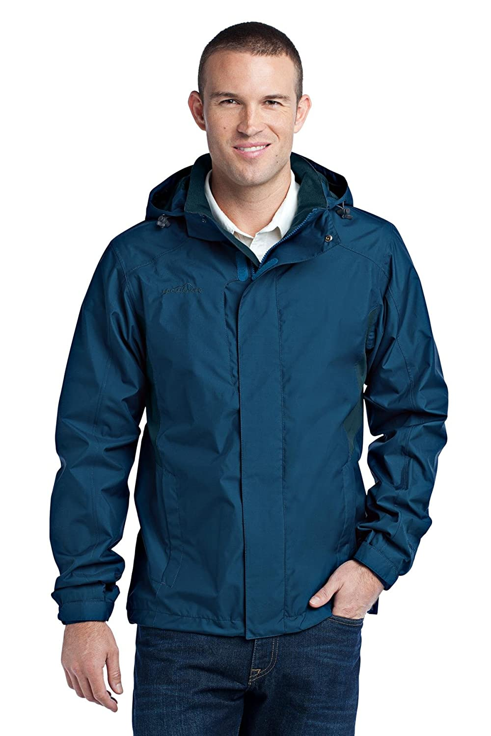 Eddie Bauer – 雨ジャケット B013XO6P9O Deep Sea Blue/Dark Adriatic XX-Large