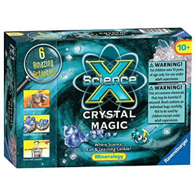 Ravensburger Science X Crystal Magic Science Kit: Toys & Games