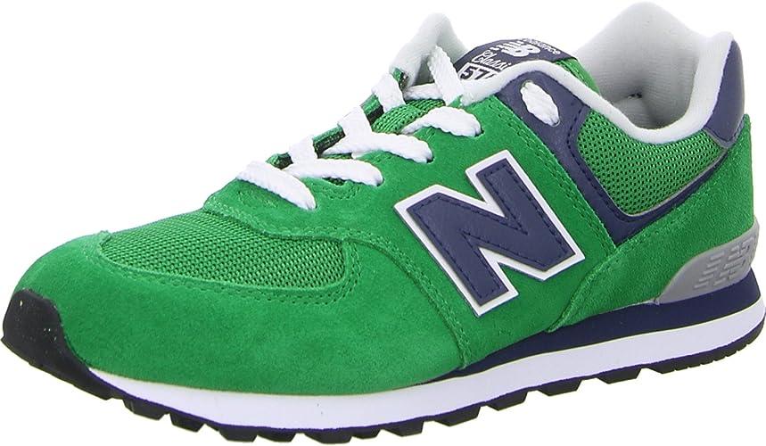 new balance 574 enfant vert