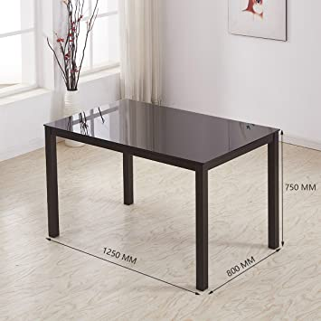 Dining Table With Coated Metal Legs Safety Top Modern Designer Inspiration Modern Designer Kitchen