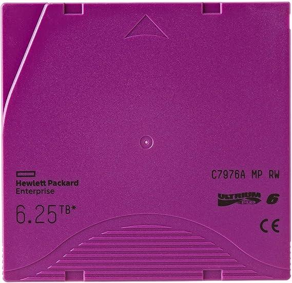 Hewlett Packard Enterprise C7976a 6 25tb Mp Rw Datenkassette Lto 6 Ultrium