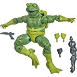 Marvel Hasbro Legends Series Spider-Man - Figura Coleccionable de Frog-Man de 15 cm - para niños de 4 años en adelante