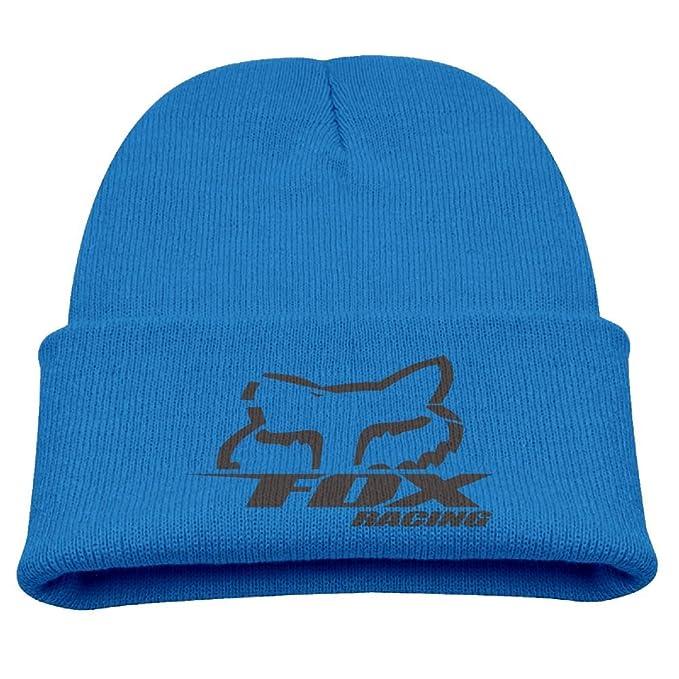 BeiLMH Kids Fox Racing Logo Winter Knit Cap Beanie Skull Cap Hat For Child   Amazon.ca  Clothing   Accessories cdfd7d890b83