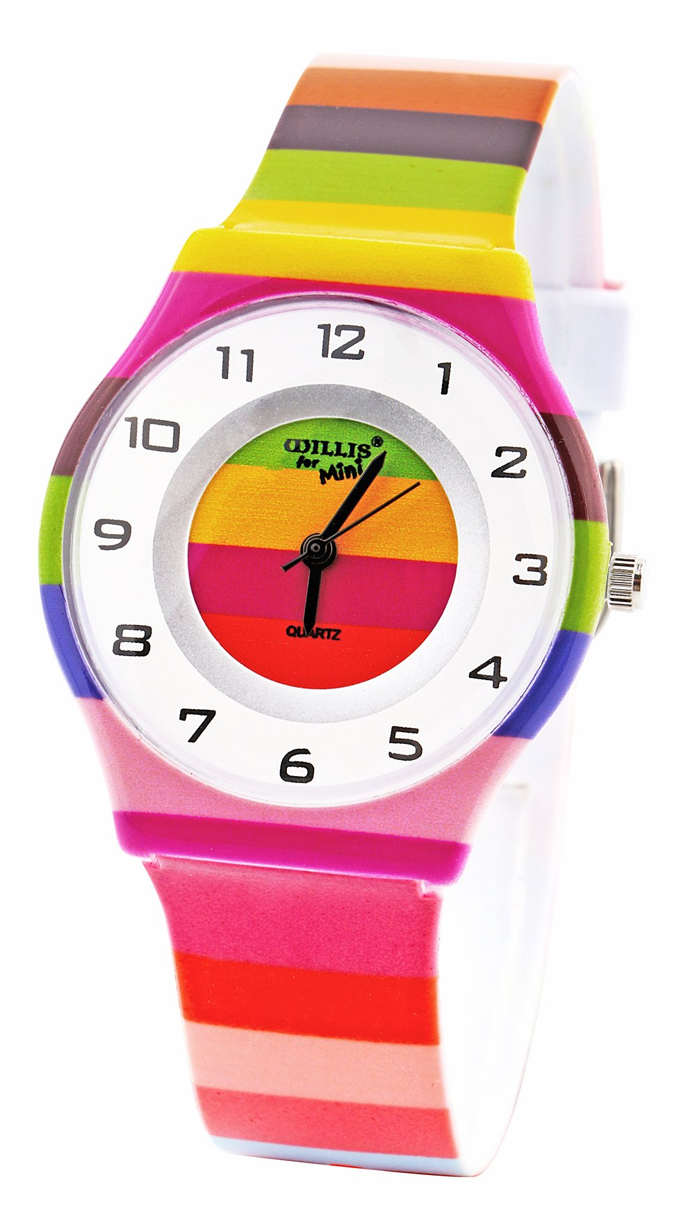 Kids Watches Girls Children Teenagers Wirstwatch Lovely Colorful Learning Gift