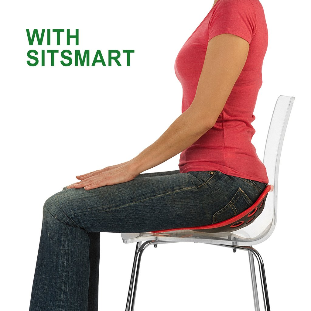 BackJoy SitSmart Fabric Posture Cushion | Lumbar Support for Car and Back Support by BackJoy (Image #4)
