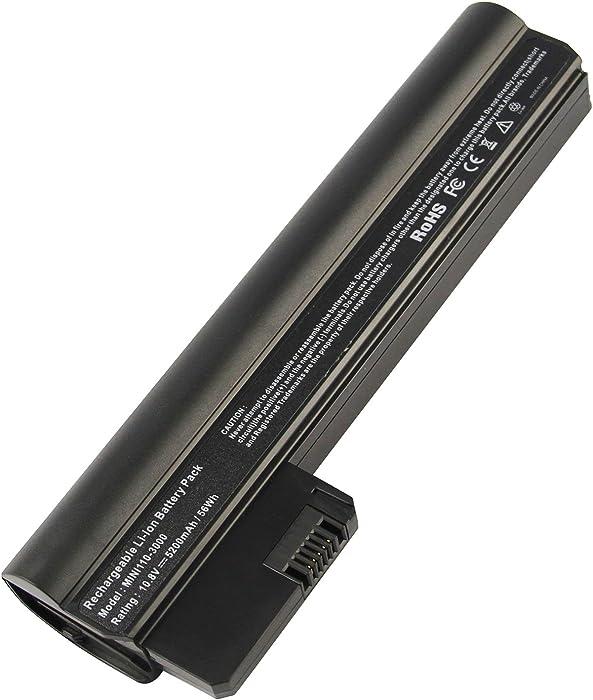 AC Doctor INC Laptop Battery for HP Mini 110-3000 PC Series Compaq Mini CQ10-400 PC Series, PN: HSTNN-CB1U HSTNN-E04C TY06 06TY, 5200mAh/10.8v/6 Cell