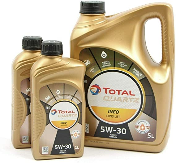7 Liter MotorÖl Total Quartz Ineo Long Life 5w 30 Auto