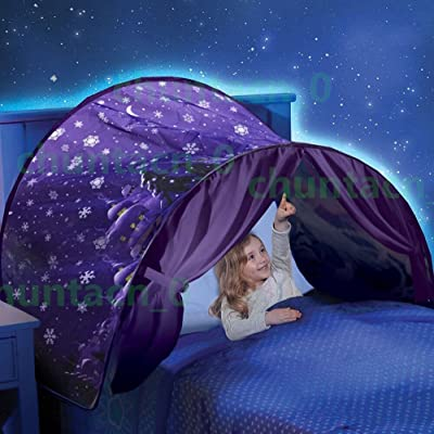 DreamTents Space Adventure Pop-up Bed Tent (Twin): Home & Kitchen