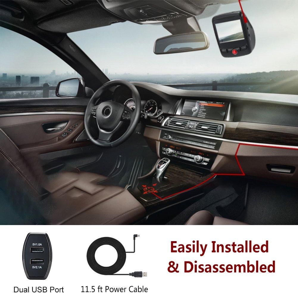 Us Area Phone Code 718%0A Amazon com   K Dash Cam  WiFi Car Dash Cam with Novatek       V         LCD  UHD     p       Wide Angle Dashboard Camera DVR Recorder  App  Night Vision