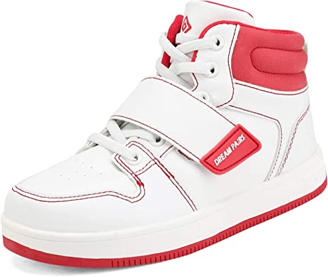 DREAM PAIRS Boys Girls High Top Sneakers Shoes