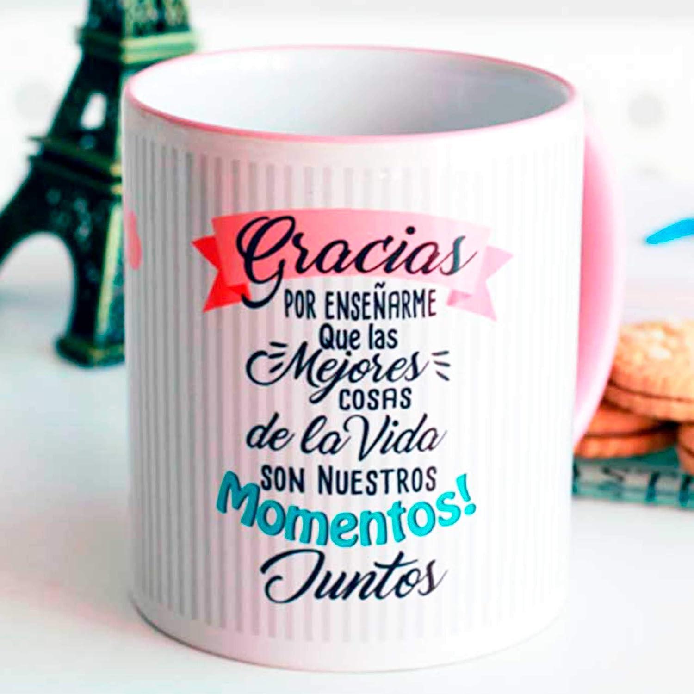Taza amor Gracias por enseñarme: Amazon.es: Handmade