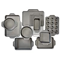 All-Clad Pro-Release bakeware set, 10 piece, Grey
