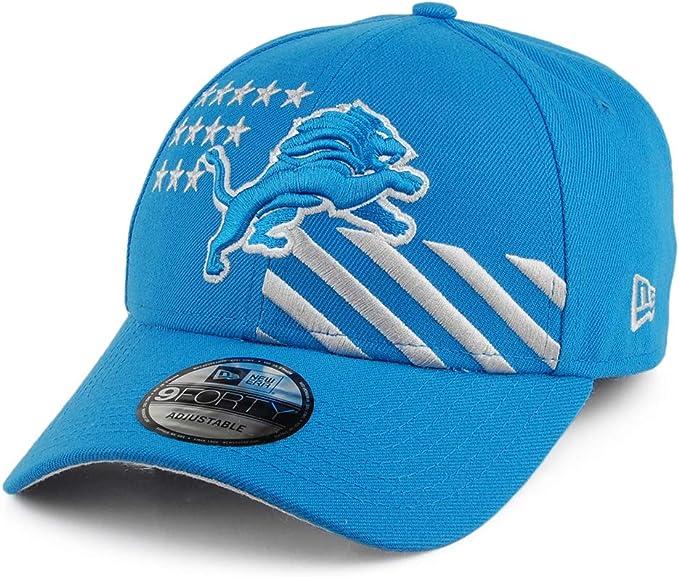 A NEW ERA Gorra de béisbol 9FORTY NFL Draft Detroit Lions Azul ...
