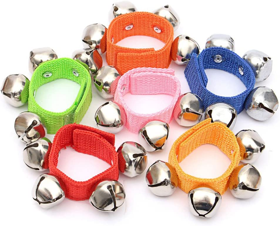Baby Kids Rattles Hand Wrist Foot Bell Educational Dancing Accessorie Kids Toy X