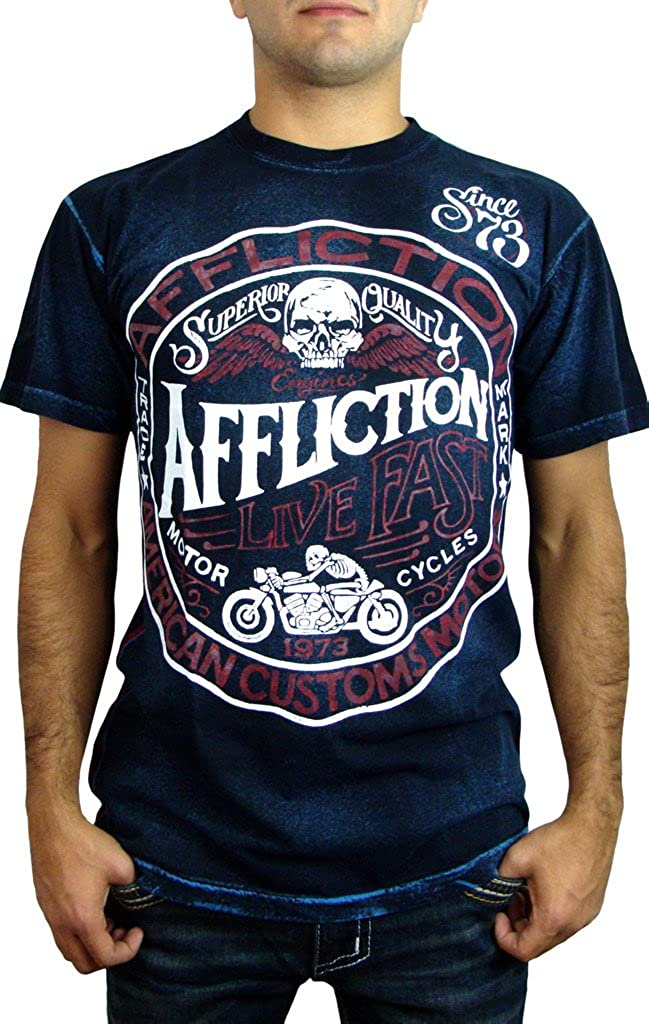Affliction T-Shirt Wind Rider White