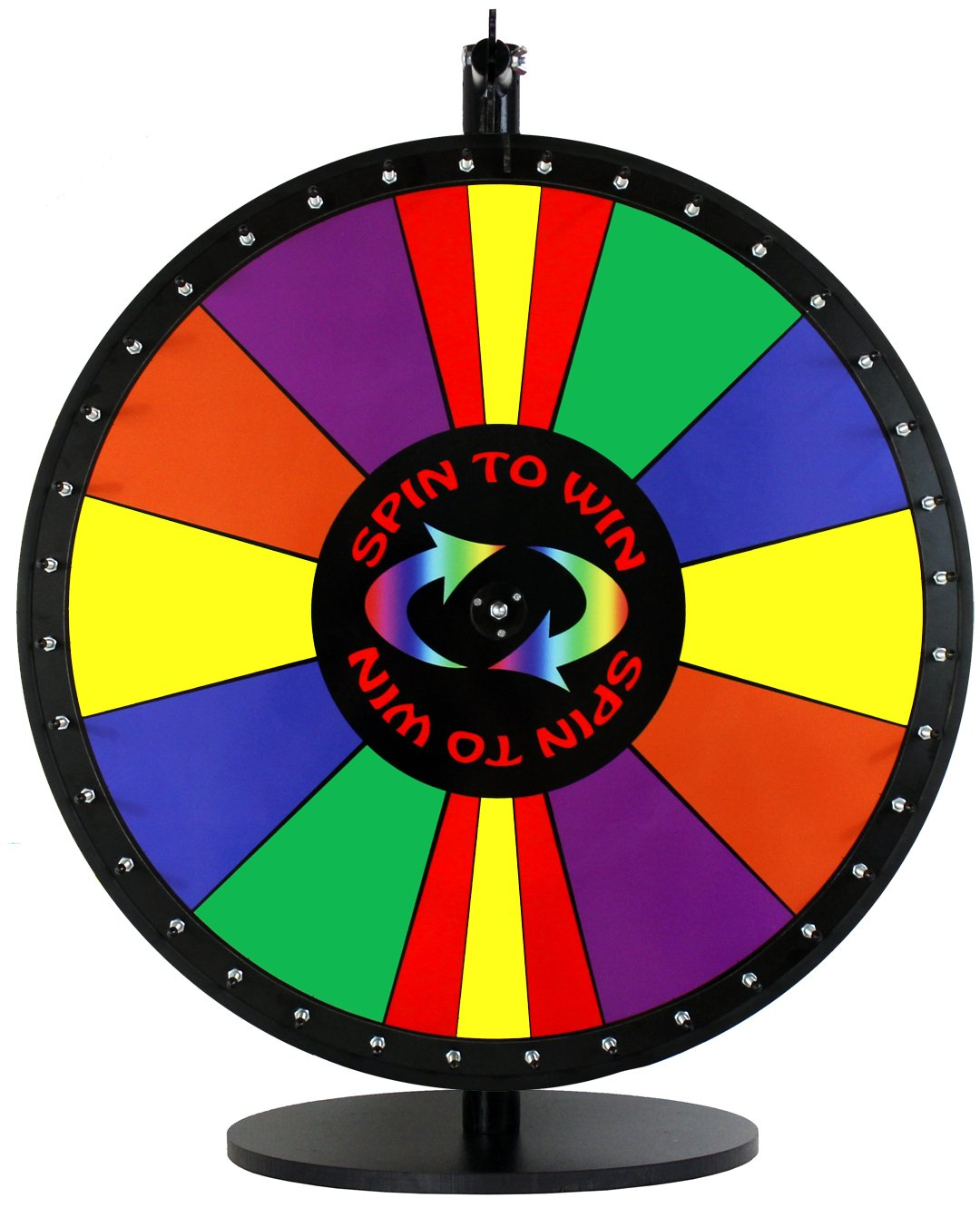 24in Spin to Win Dry Erase Prize Wheel with Special Sections