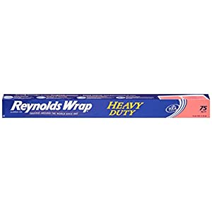 Reynolds Wrap Heavy Duty Aluminum Foil, 75 Square Feet