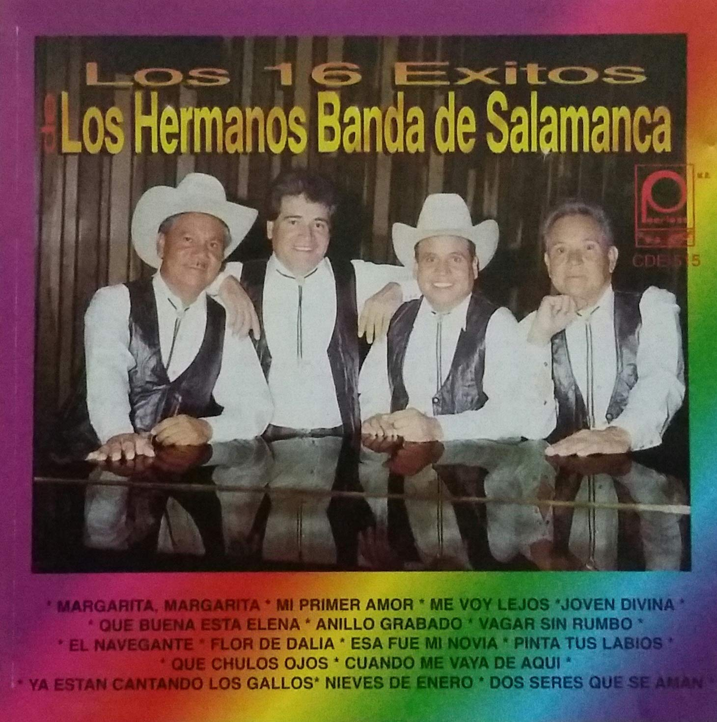 Amazon.com: LOS HERMANOS BANDA DE SALAMANCA - LOS 16 EXITOS ...