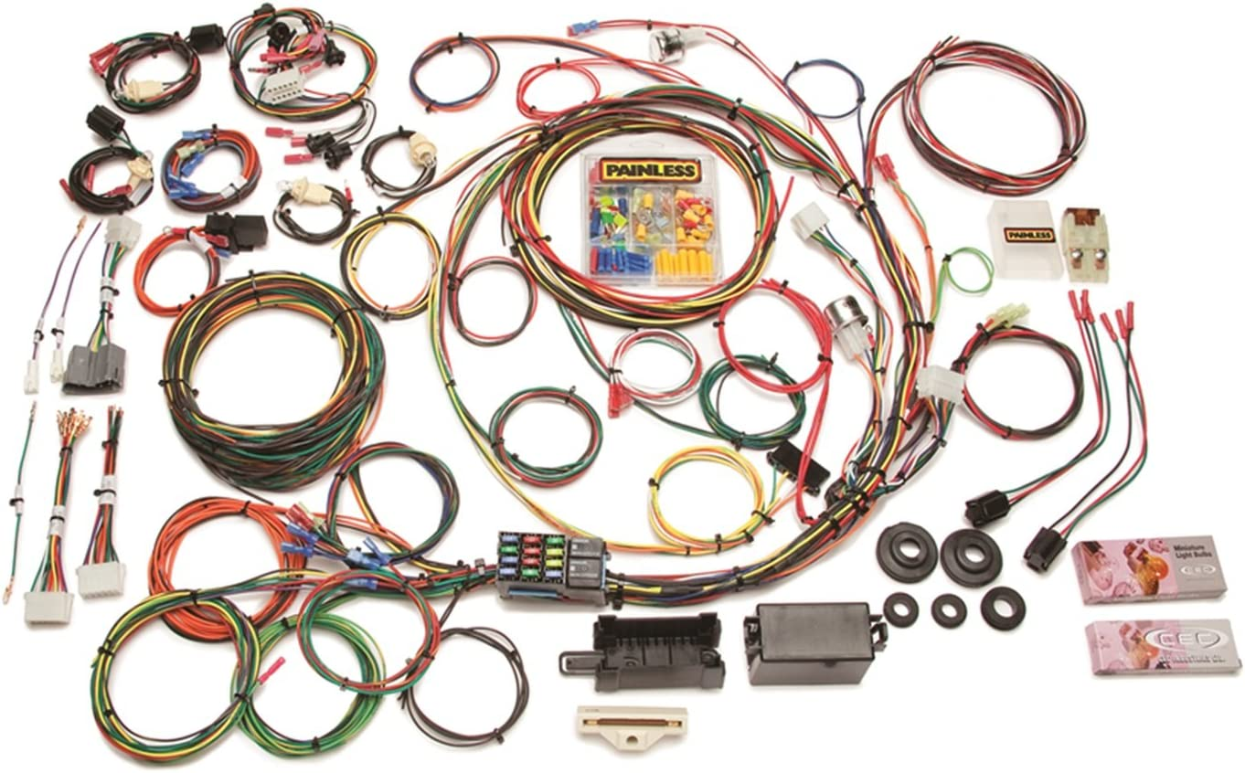 amazon.com: painless wiring 10117 12 circuit pick-up wiring harness:  automotive  amazon.com