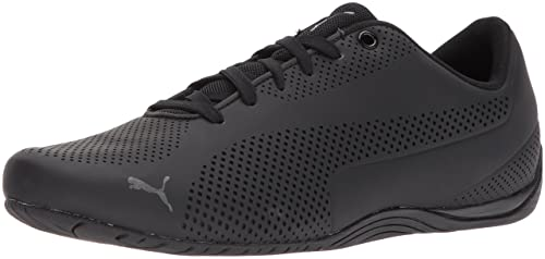 PUMA Men's Drift Cat Ultra Reflective Sneaker, Black Black