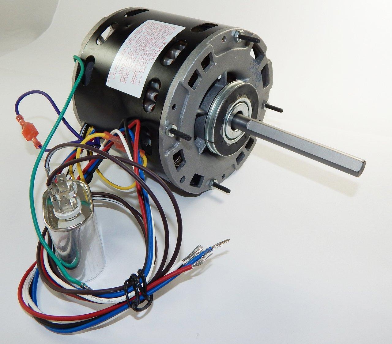 1/3 hp 1075 RPM 3-Speed 48 Frame 115V Direct Drive Furnace Motor ...