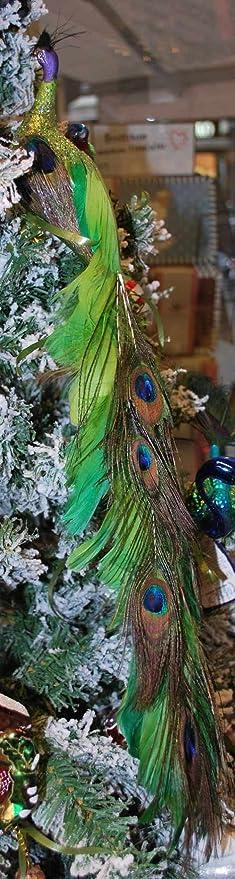 Pfau Fancy Peacock Von Inge Glas Christbaumschmuck Amazon De Kuche