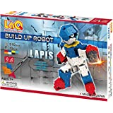 LaQ Buildup Robot Lapis - 4 Models, 310 Pieces | STEM Building Construction Set | Made in Japan | Educational Sensory…