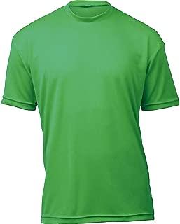 product image for WSI Microtech Loose Short Sleeve Shirt, Kelly Green, Medium