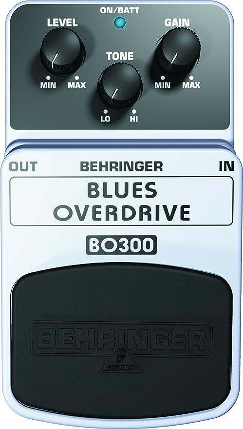 Behringer BO300 - Pedal de efecto overdrive para guitarra: Amazon ...