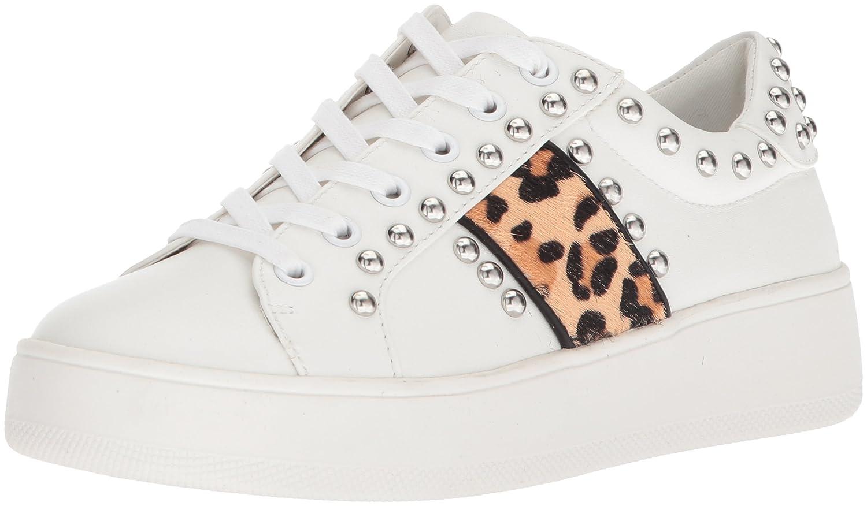 Steve Madden Women's Belle Sneaker B078NJXGTH 8.5 B(M) US Leopard Multi