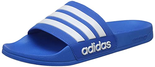 c3959b676e50 Adidas Men s Adilette Shower Ftwwht Brblue Sandals-7 UK India (40 2 ...