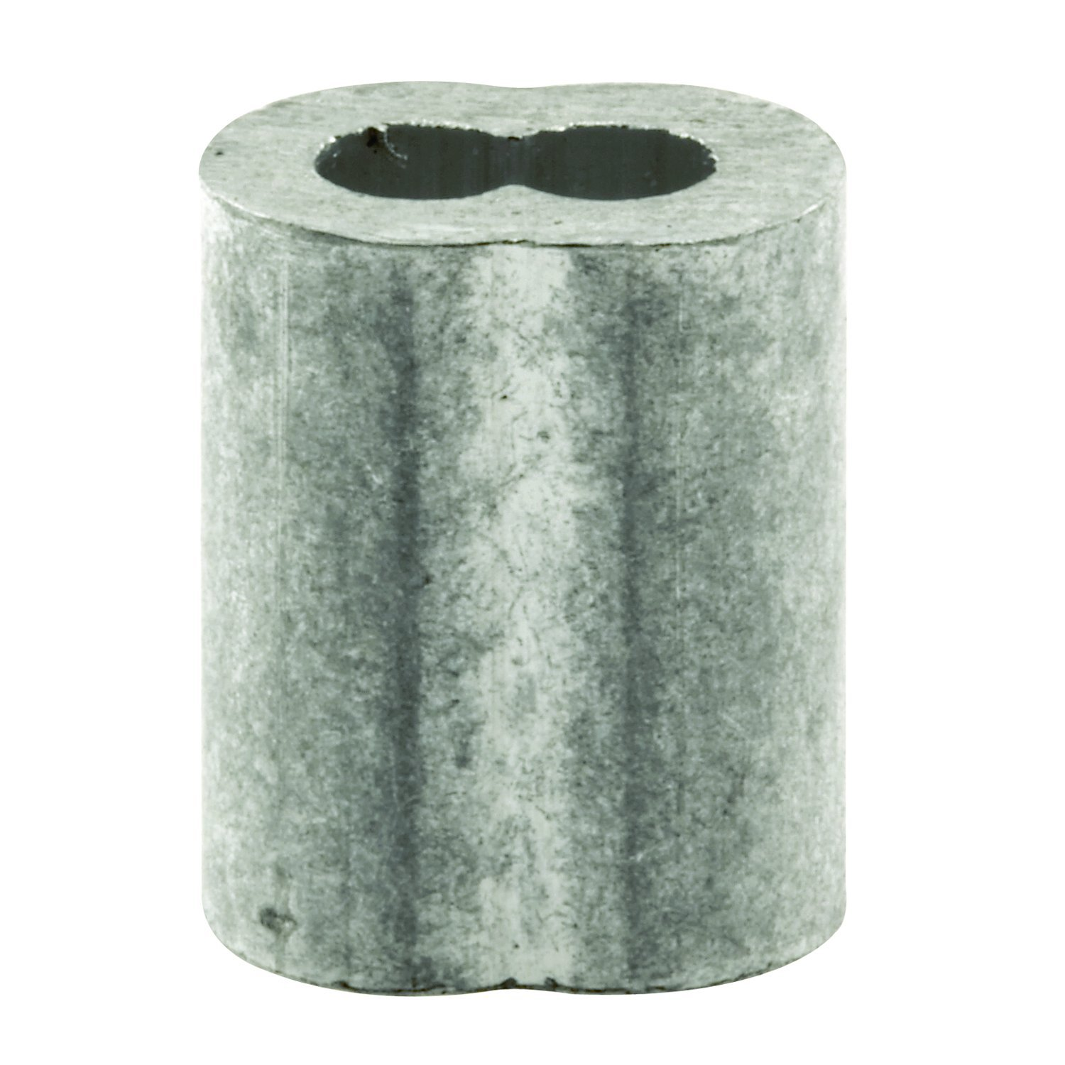 Prime-Line Products GD 12174 Cable Ferrules, 1/8'', Extruded Aluminum, Pack of 100
