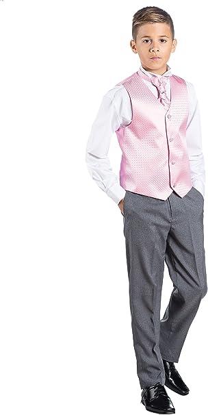 Paisley of London Traje de vestir para niños, chaleco con diseño de ...