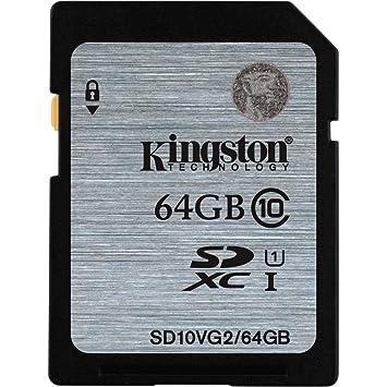 Kingston - Tarjeta de memoria SDXC para Canon EOS 60D (64 GB ...
