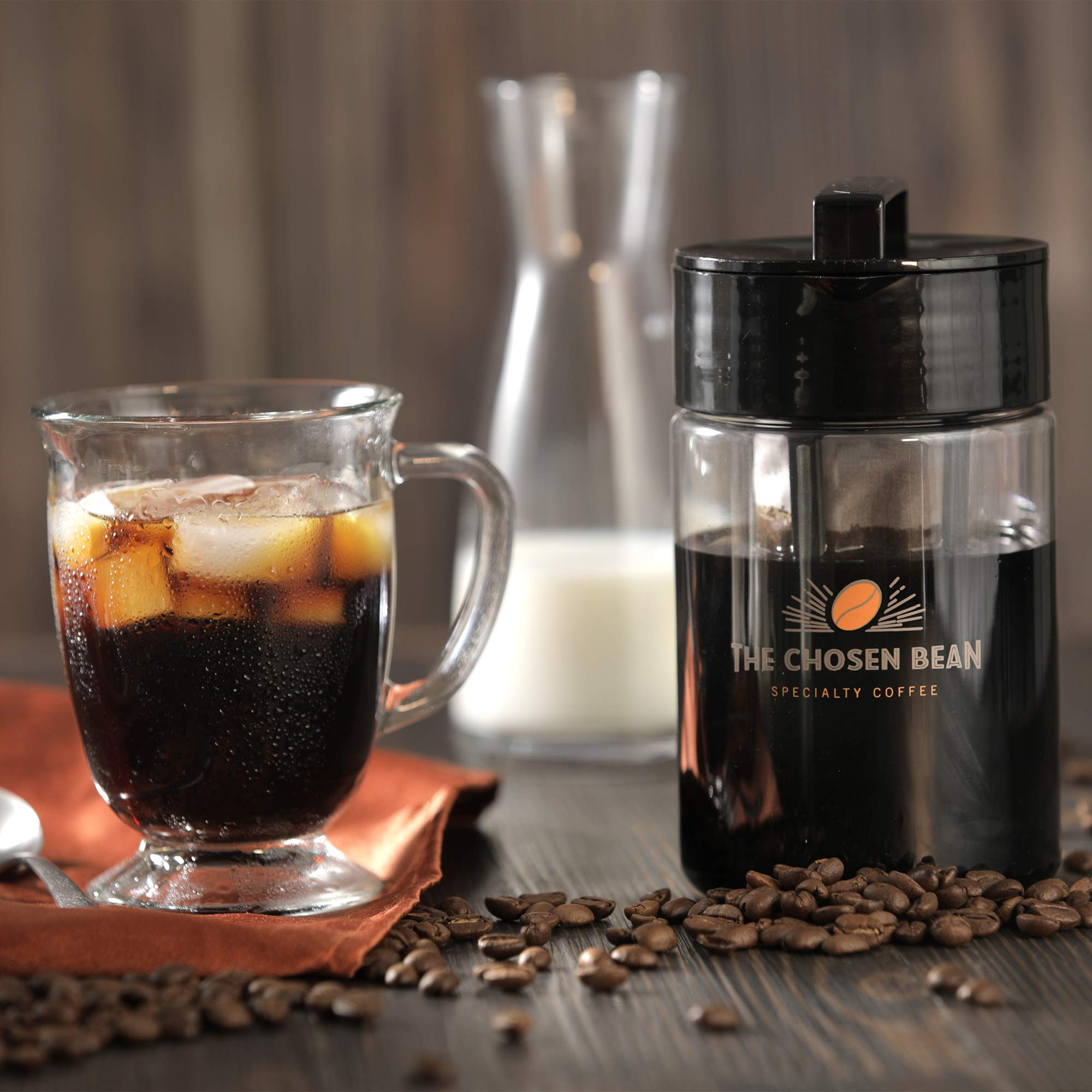 Cold Brew Coffee Solution Specialty Coffee Beans (Whole Bean, 5LB) by The Chosen Bean (Image #5)