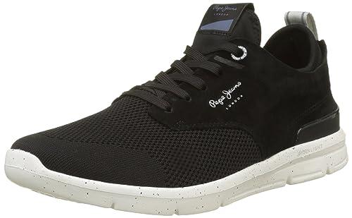 Pepe Jeans London Jayden Tech, Zapatillas para Hombre: Amazon.es: Zapatos y complementos