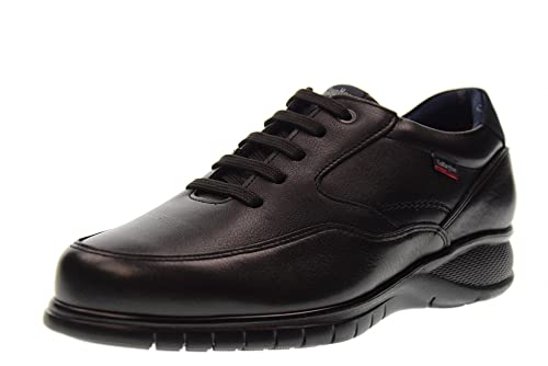 CALLAGHAN hombre de los zapatos zapatillas de deporte bajas 12702 ESTRELLA CABALLO NEGRO: Amazon.es: Zapatos y complementos