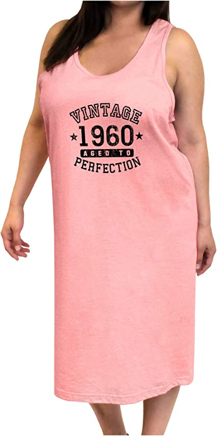 TooLoud 1960 Vintage Birth Year Muscle Shirt Brand